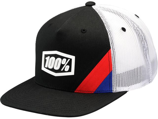 100% Cornerstone Trucker Hat Black